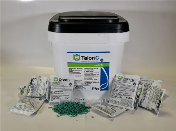 Talon G Place Packs. 300 place packs. Each place pack is 25 grams.